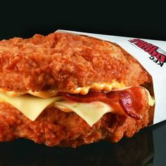 """Sandwiches: KFC's Double Down, Wendy's Lobster Surf n' Turf Burger, or Carl's Jr.'s Pop-Tart Ice Cream Sandwich? 