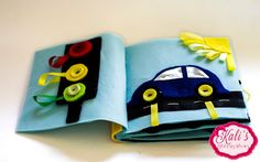 Super easy, no sew car page, comes with a pattern too