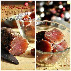 Filet mignon séché au poivre et piment d'Espelette
