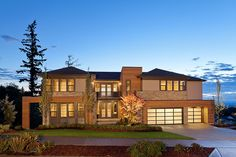 Toll Brothers - This stunning Northwest Contemporary McCartney home has a spacious floor plan and breathtaking views.