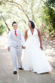Real Gay Weddings: Ana and Gina | Equally Wed - A gay and lesbian wedding magazine.