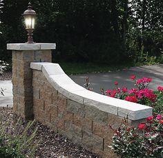 Run The Tail Parallel With Driveway And Then Just A Little Whip At The Very  End · Driveway EntranceDriveway IdeasDriveway LightingRetaining ...
