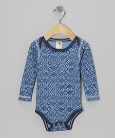 Take a look at this Sapphire Diamond Organic Bodysuit - Infant by Kiwi Industries on #zulily today!