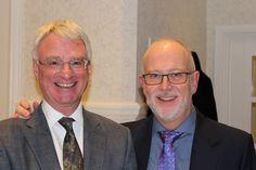 Dr Capel Prichard and Dr Mike Hodgson Dr Mike, Dentist In, Microbiology, Retirement, Manchester, Dental, Presentation, Medical