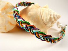 Braided RECYCLED PHONE/COMPUTER wire Bracelet by gr8byz on Etsy, $10.00