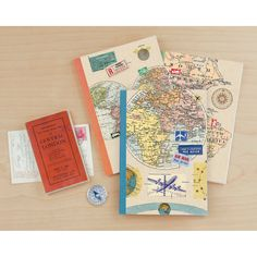 Galison Bon Voyage Writer's Notebooks