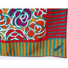 seta, scarf, sciarpa, Foulard Carré en Soie, seidentuch, missoni