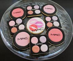 MAC makeup cookies