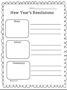 new year's resolution essay writing