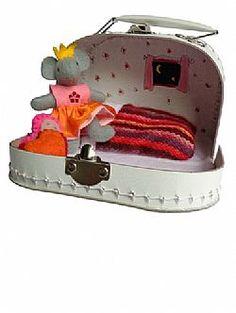 Mini prinsessenmuizenkoffertje