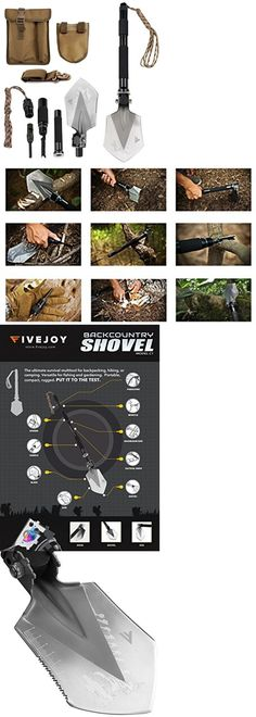 Camping Shovels 75233: Multi Tool Knife Portable Shovel Outdoor Survival Military Tactical Camping New BUY IT NOW ONLY: $77.99