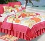 Flip Flops On The Beach Quilt Love the pillows