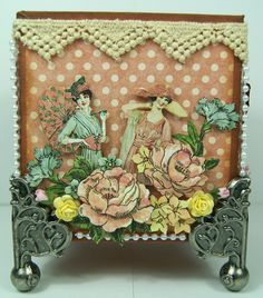 STUNNING Ladies Diary Trinket box by Andrew Roberts from the Ning Gallery! #graphic45