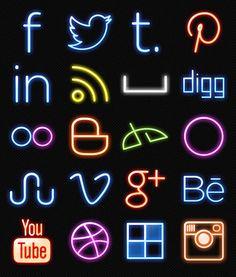 35 Best Free Social Media Icons Set for 2014