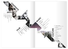 Kaleid Arts & Culture Magazine by Aidan Stonehouse, via Behance