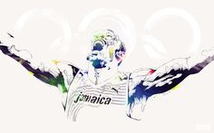 Legendary Olympians by Bram Vanhaeren, via Behance