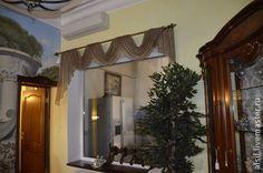 Дизайн штор для гостиной в загородном доме(2) - дизайн штор,пошив штор