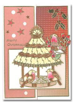 3954, Christmas,  Bird,