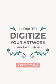 In this tutorial I'm going to show you how to turn a simple hand-drawn illustration into a vector using Adobe Illustrator. In this tutorial I'm going to show you how to turn a simple hand-drawn illustration into a vector using Adobe Illustrator. Graphisches Design, Graphic Design Tutorials, Tool Design, Graphic Design Inspiration, How To Design Logo, In Design Tutorial, Design Trends, Design Patterns, Design Process