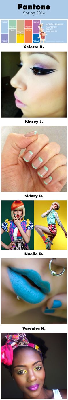 How to Rock the Top Colors of Spring 2014