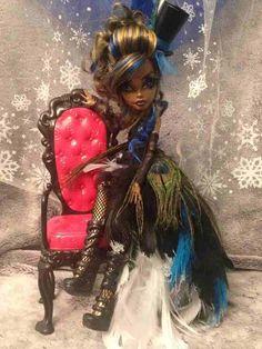 Donna Taylor Custom Monster High Robecca Steam