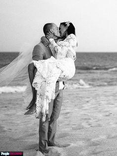 La boda de Naya Rivera and Ryan Dorsey. #Ebodas #Wedding #Bride #Couple #CelebrityWedding