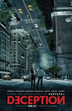 """Create an """"Inception"""" Inspired Movie Poster"""