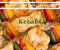 This kebab recipe is easy and versatile for every member of your family, including the furry ones….and it gets your veggies in!  http://pupsnacks.com/delicious-kebabs/