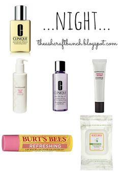 The Ashcraft Bunch: Skin Care Routine