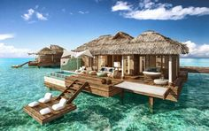 Sandals presenta le prime suite sull'acqua Luxury Included di tutti i Caraibi