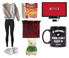 """""""It's Cold and I'm not going Outside"""" by thefandomgoddess ❤ liked on Polyvore featuring Anine Bing, The Row, L.L.Bean and Jac Vanek"""