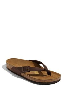 Birkenstock 'Adria' Oiled Leather Sandal available at #Nordstrom