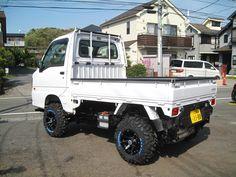 イメージ 5 Small Trucks, Mini Trucks, Small Cars, Pickup Trucks, Mini 4x4, Homemade Go Kart, Suzuki Carry, Kei Car, Little Truck