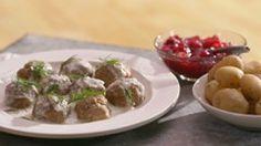 Boulettes suédoises Quebec, Confort Food, Pork Dishes, Pork Recipes, Recipies, Quick Meals, Family Meals, Meal Prep, Good Food