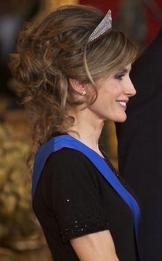 Princess Letizia - Spanish Royals Receive President of Chile - Gala Dinner