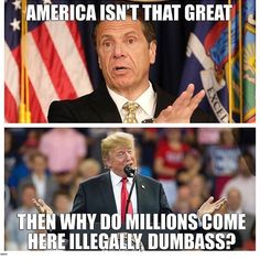 Go live elsewhere if you're unimpressed with the greatest country in the entire world. Caricatures, O Drama, Trump Card, Liberal Logic, Political Satire, Truth Hurts, Thats The Way, History Facts, Make Sense
