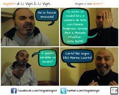 """""""Sogno o son destro?"""" #comics #fumetto #fotoromanzo #palermo #cabaret"""