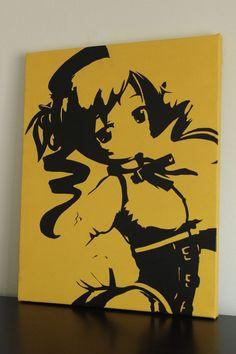Mami Tomoe Canvas Art (Puella Magi Madoka Magica)
