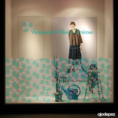 1d40a8637075 Vinilo Otoño Invierno 059  Vinilos decorativos Otoño Invierno Vinilos  adhesivos vidrieras escaparates show window Window Display Wall Art  Stickers wall ...