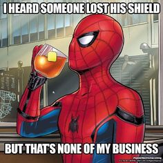 Offical Spider-Man Homecoming memes to promote the film