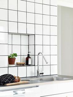 installation inspiration heath ceramics kitchen. Black Bedroom Furniture Sets. Home Design Ideas