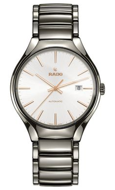 Rado Watch True L #add-content #bezel-fixed #bracelet-strap-ceramic #brand-rado #case-material-ceramic #case-width-40mm #date-yes #delivery-timescale-call-us #dial-colour-silver #gender-mens #luxury #movement-automatic #official-stockist-for-rado-watches #packaging-rado-watch-packaging #style-dress #subcat-true #supplier-model-no-r27057112 #warranty-rado-official-2-year-guarantee #water-resistant-50m