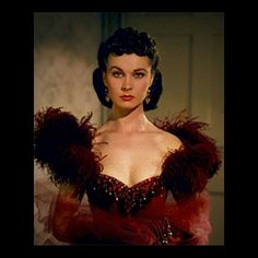 Vivien Leigh as Scarlet O'Hara in Gone with the Wind ❤️