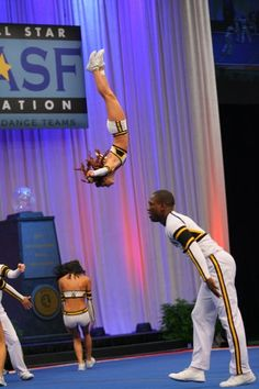 cheerleading Worlds... dayum