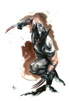 X-Force Wolverine by Gabriele Dell'otto