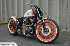 Harley-Davidson Ironhead bobber