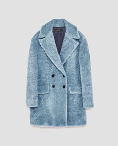 Image 11 of TEXTURED COAT WITH LAPELS from Zara