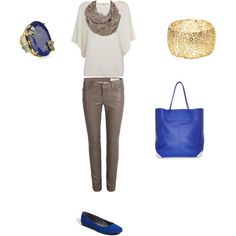 Bold Blue, created by ebeth76 on Polyvore
