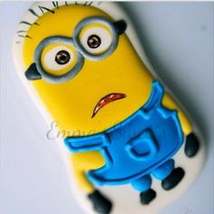 Minion cookie by Emma's Sweets
