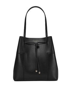 Block T Bucket Tote - Black